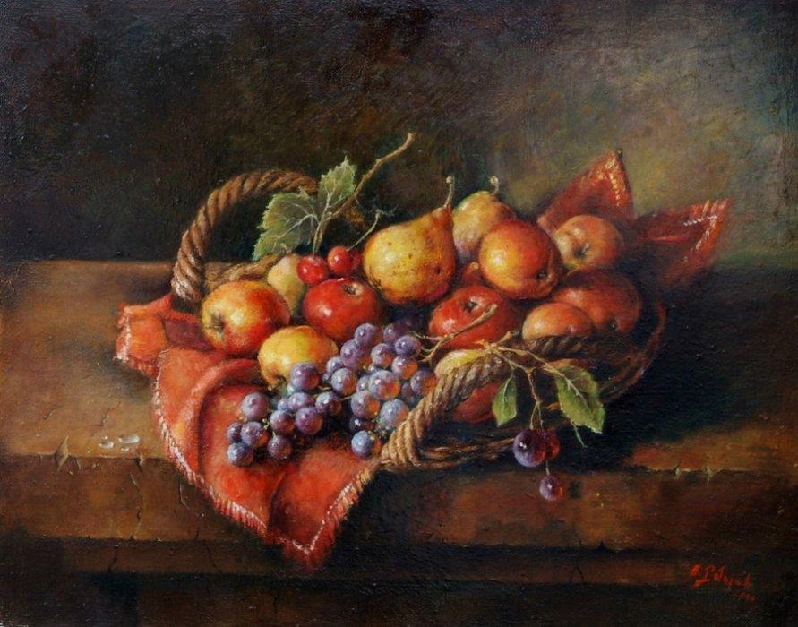 Owoce w koszyku