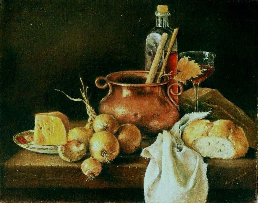 Z cebulą i serem