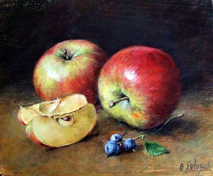 Jabłka z jagodami
