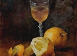 Cytryny z kieliszkiem