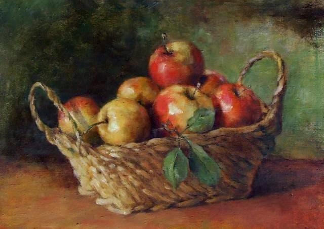 Jabłka w koszyku 2