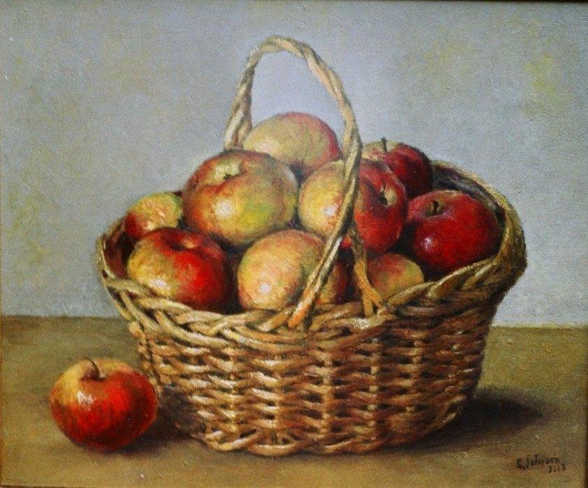Jabłka w koszyku 3