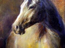 Brązowy koń