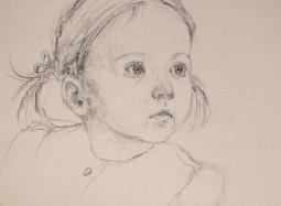 Szkic do portretu 2