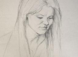 Szkic do portretu 3