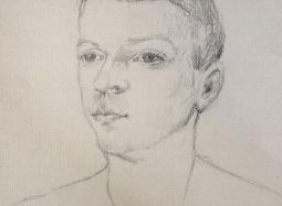 Szkic do portretu 4