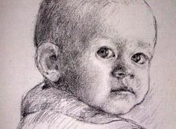 Szkic do portretu 5